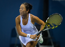 August 11, 2018 - Vania King of the United States in action during qualifications at the 2018 Western & Southern Open WTA Premier 5 tennis tournament. Cincinnati, USA, August 11, 2018 (Credit Image: © AFP7 via ZUMA Wire)