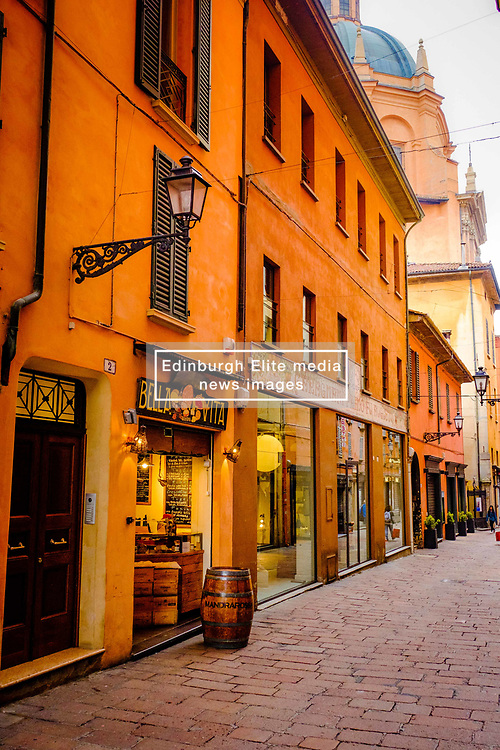 Early morning in the street, Bologna, Italy<br /> <br /> (c) Andrew Wilson | Edinburgh Elite media