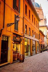 Early morning in the street, Bologna, Italy<br /> <br /> (c) Andrew Wilson | Edinburgh Elite media