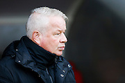 Crawley Town manager Dermot Drummy during the EFL Sky Bet League 2 match between Crawley Town and Grimsby Town FC at the Checkatrade.com Stadium, Crawley, England on 26 November 2016. Photo by Jarrod Moore.