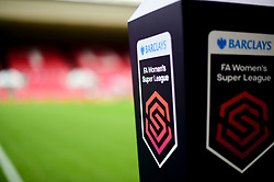 Barlcays FA Women's Super League Match Ball prior to kick off at Ashton Gate - Mandatory by-line: Ryan Hiscott/JMP - 07/09/2019 - FOOTBALL - Ashton Gate - Bristol, England - Bristol City Women v Brighton and Hove Albion Women - FA Women's Super League