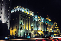 The Bund in Shanghai is a former jewel of the British Empire.
