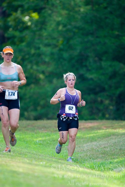 CHARLOTTESVILLE, VA - July 27, 2008 - ANNA FITZGIBBON in The 2008 Charlottesville International Triathlon was held at Walnut Creek Park in Albemarle County near Charlottesville, Virginia, USA.