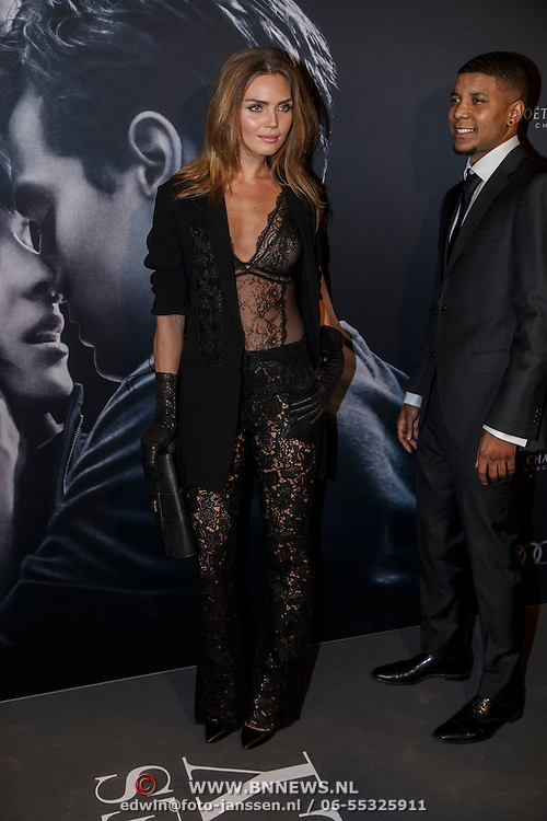 NLD/Amsterdam/20150211 - Premiere Fifty Shades of Grey, Kim Feenstra