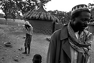 Despite cultivating some of the highest quality, low-cost cotton in the world, cotton farmers in West Africa are harvesting poverty and misery due to huge farm subsidies given to US and European cotton producers.<br /> Koundougou, Burkina Faso. 11/12/2003.<br /> Photo &copy; J.B. Russell