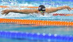 04-04-2015 NED: Swim Cup, Eindhoven<br /> Joeri Verlinden, 100m butterfly<br /> Photo by Ronald Hoogendoorn / Sportida
