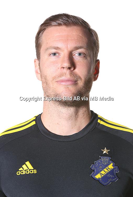 Per Karlsson<br /> Halvfigur<br /> @Leverans<br /> Allsvenskan 2016<br /> Fotboll