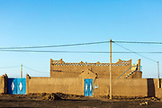 Hassilabied village, Southern Morocco, 2017-12-19.<br /><br />Hassilabied village is located on the fringes of the Erg Chebbi dunes, 3km from Merzouga.