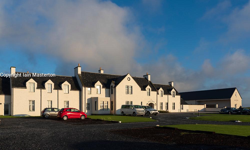 View of Machrie Golf Links hotel on Islay. In Inner Hebrides, Scotland, UK