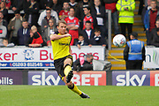 Burton Albion defender and goalscorer Stephen Warnock (3) (score 1-0) during the EFL Sky Bet Championship match between Burton Albion and Fulham at the Pirelli Stadium, Burton upon Trent, England on 16 September 2017. Photo by Richard Holmes.