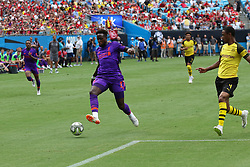 July 22, 2018 - Charlotte, NC, U.S. - CHARLOTTE, NC - JULY 22:  Divock Origl (27) of Liverpool advances the ball during the International Champions Cup soccer match between Liverpool FC and Borussia Dortmund in Charlotte, N.C. on July 22, 2018.(Photo by John Byrum/Icon Sportswire) (Credit Image: © John Byrum/Icon SMI via ZUMA Press)