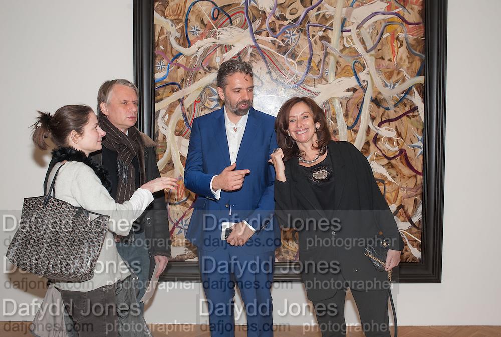 KEITH TYSON; ANITA  Zabludowicz , Panta Rhei. An exhibition of work by Keith Tyson. The Pace Gallery. Burlington Gdns. 6 February 2013.