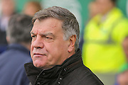 Sunderland Manager Sam Allardyce  during the Barclays Premier League match between Everton and Sunderland at Goodison Park, Liverpool, England on 1 November 2015. Photo by Simon Davies.