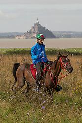HE Sheikh Hamdan Bin Mohd Al Maktoum, (UAE), Yamamah - Endurance - Alltech FEI World Equestrian Games™ 2014 - Normandy, France.<br /> © Hippo Foto Team - Leanjo de Koster<br /> 25/06/14