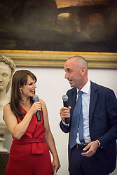 July 3, 2017 - Rome, Italy - Mayor of Rome Virginia Raggi  presentation to the press 'Rome Half Marathon Via Pacis' ,event promoted by Roma Capitale and the Pontifical Council for Culture the Dicastery of the  Holy See, in colaboration with FIDAL-Italian Federation of Light  Athletics - with the sponsorship of CONI and IC (Credit Image: © Andrea Ronchini/Pacific Press via ZUMA Wire)