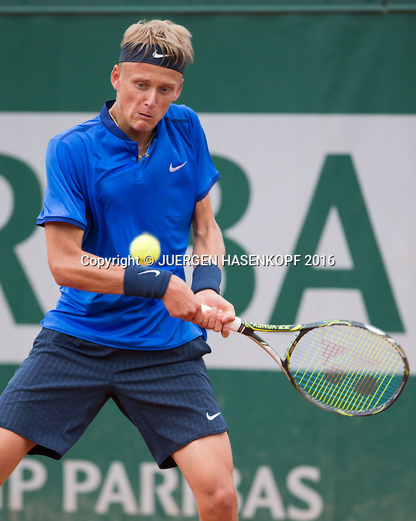 Nicola Kuhn (ESP) Junior Boys<br /> <br /> Tennis - French Open 2016 - Grand Slam ITF / ATP / WTA -  Roland Garros - Paris -  - France  - 3 June 2016.