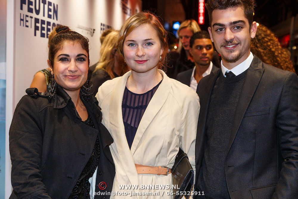 NLD/Amsterdam/20130114 - Premiere Feuten de Serie, , Abbey Hoes en Marius Gottlieb