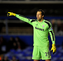 Stoke City's Thomas Sorensen -  - Photo mandatory by-line: Alex James/JMP - Tel: Mobile: 07966 386802 29/10/2013 - SPORT - FOOTBALL - ST Andrew's - Birmingham - Birmingham City v Stoke City - Capital One Cup - Forth Round