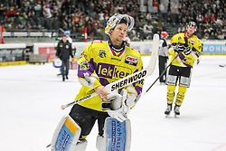 04.01.2015, Curt Frenzel Stadion, Augsburg, GER, DEL, Augsburger Panther vs Krefeld Pinguine, 35. Runde, im Bild enttaeuschung bei Tomas Duba #70 (Krefeld Pinguine), Foto: Eibner // during Germans DEL Icehockey League 35th round match between Augsburger Panther and Krefeld Pinguine at the Curt Frenzel Stadion in Augsburg, Germany on 2015/01/04. EXPA Pictures © 2015, PhotoCredit: EXPA/ Eibner-Pressefoto/ Kolbert<br /> <br /> *****ATTENTION - OUT of GER*****