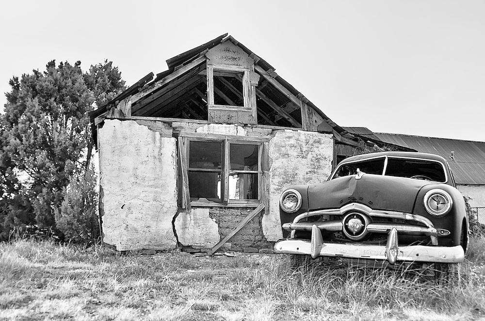 Old truck, Punta de Agua, NM