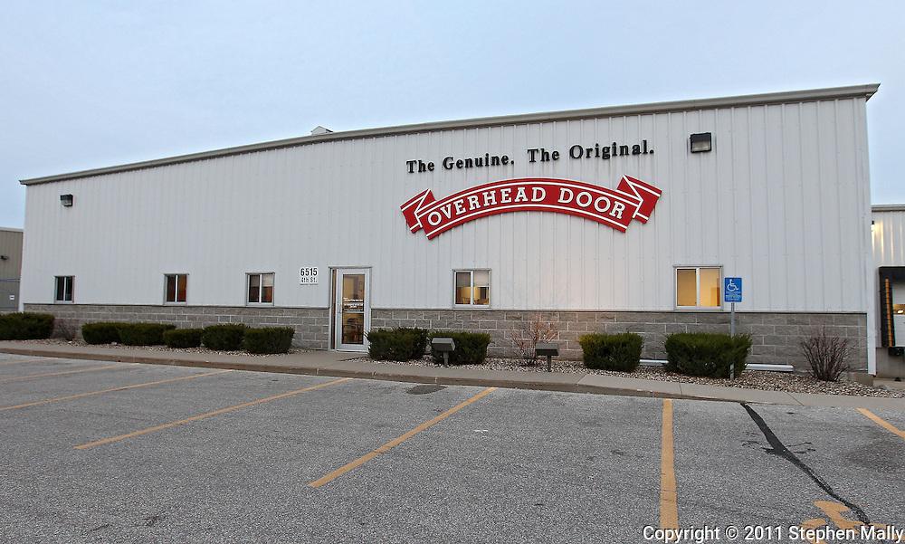 Overhead Door Company, 6515 4th Street SW in Cedar Rapids on Monday afternoon, November 21, 2011. (Stephen Mally/Freelance)
