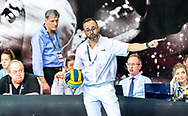 Referee<br /> FTC Telekom Budapest (white cap) vs Zodiac CNAB (blue cap)<br /> Semifinals  <br /> LEN Champions League Final Eight 2019<br /> StadionBad 07/06/2019<br /> Hannover Germany GER<br /> Photo © G.Scala/Deepbluemedia/Insidefoto