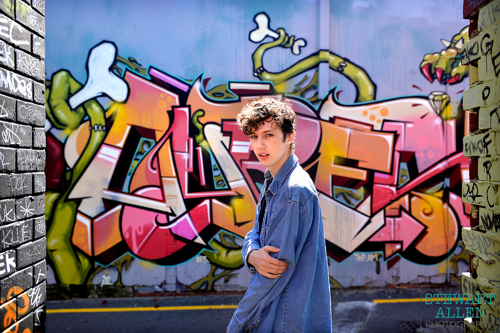 Best Portrait.<br /> Stewart Allen.<br /> The Sunday Times.<br /> Singer, songwriter and actor Troye Sivan has become a You Tube sensation as well as playing a young Hugh Jackman in the X-Men movies.