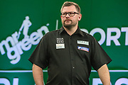 James Wade during the PDC Darts Players Championship at  at Butlins Minehead, Minehead, United Kingdom on 26 November 2017. Photo by Shane Healey.