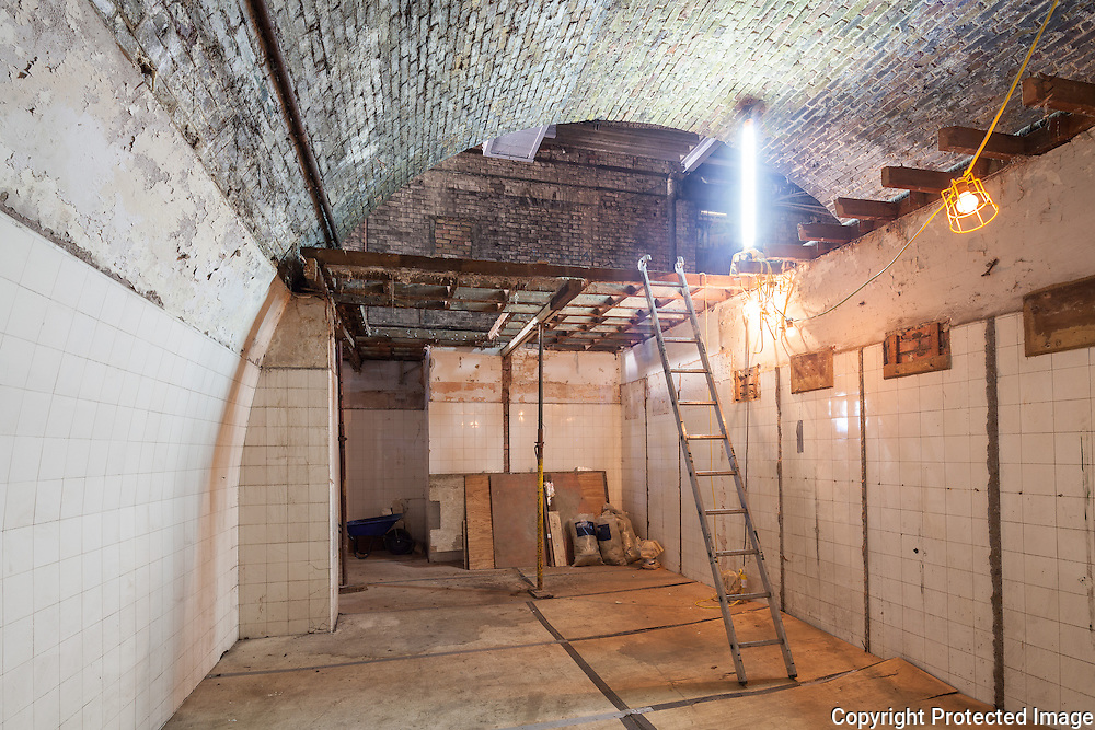 Peckham Rye Station Refurbishment 2013. Architect: Benedict O'Looney Architects