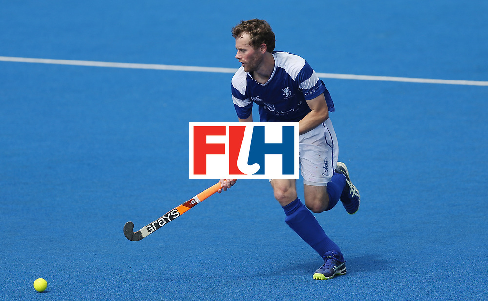 LONDON, ENGLAND - JUNE 20:  Chris Grassick of Scotland during the Pool B match between Scotland and Canada on day six of the Hero Hockey World League Semi-Final at Lee Valley Hockey and Tennis Centre on June 20, 2017 in London, England.  (Photo by Alex Morton/Getty Images)