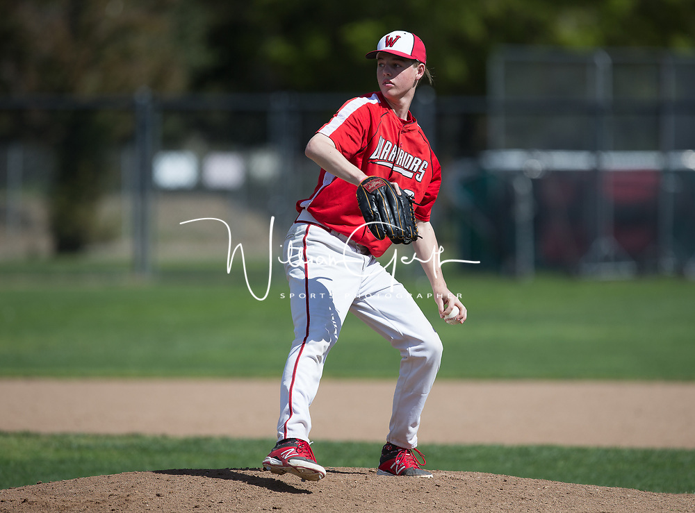 (Photograph by Bill Gerth/ for Max Preps/3/11/17) Palo Alto vs Westmont in a F/S Baseball Game at Westmont High School, Campbell CA on 3/11/17.
