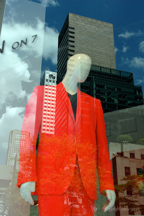 Orange suit, Saks Fifth Ave, Spring 2009