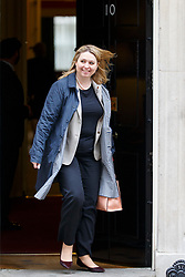 © Licensed to London News Pictures. 14/03/2017. London, UK. Culture Secretary KAREN BRADLEY leaves Downing Street after a cabinet meeting on Tuesday, 14 March 2017. Photo credit: Tolga Akmen/LNP