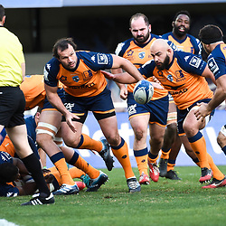 Bismarck DU PLESSIS of Montpellier   during the Heineken Champions Cup, Pool five match between Montpellier and Connacht at Altrad Stadium on January 19, 2020 in Montpellier, France. (Photo by Alexandre Dimou/Icon Sport) - Altrad Stadium - Montpellier (France)