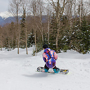 Perfect conditions for spring riding at Bretton Woods.