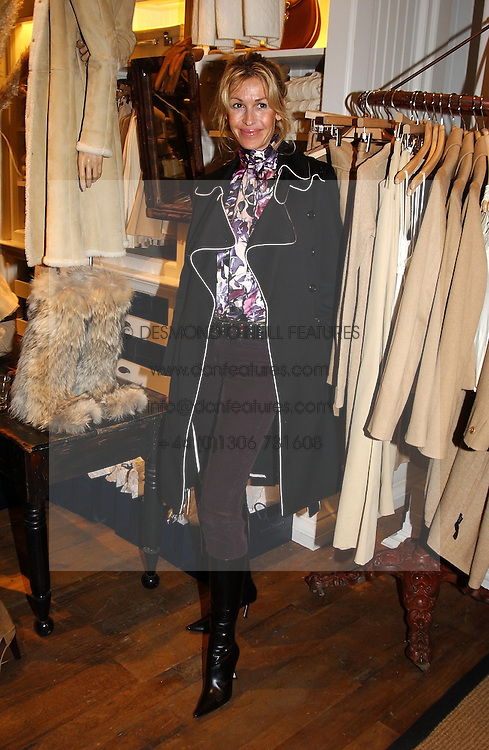 Swimwear designer MELISSA ODABASH at Polo Ralph Lauren's Pink Pony Party to launch it's Pink Pony Collection in aid of Cancer Research UK, held at their Fulham Road Store, London on 13th October 2004.<br /><br /> UKNON EXCLUSIVE - WORLD RIGHTS
