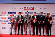 MADRID, SPAIN, 2015, FEBRUARY 08 <br /> Goya Theatre in Madrid, the Marca Newspaper Sports Awards are given, awarded for the best players, coaches and referees in Spanish football<br /> ©Exclusivepix Media