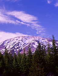 Mt. St. Helens from the South, Mt. St. Helens National Volcanic Monument, Washington, US