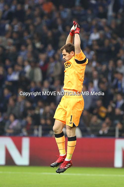 Porto goalkeeper, Iker Casillas