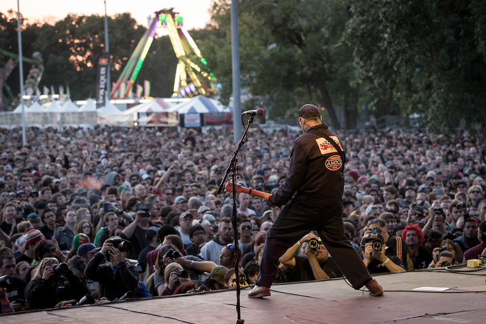 Mike Ness of Social Distortion at Riot Fest 2014