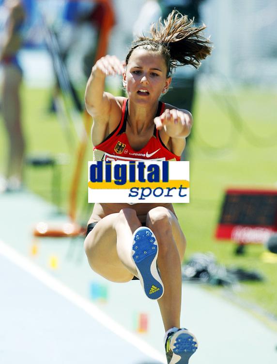 Friidrett, 27. juli  2010 ,<br /> EM Barcelona<br /> <br /> European Athletics Championships<br /> Barcelona<br /> <br /> Nadja K&auml;ther , GER  lengde<br /> <br /> Foto: Anders Hoven , Digitalsport