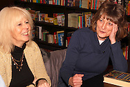 Bonnie Doczy of Springboro (left) and Donna Beddies of Dayton during a meeting of the Classics Book Club at Books & Company in The Greene, Monday, March 5, 2012.