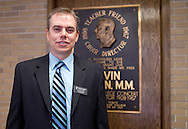 Waldorf College President-elect Bob Alsop at Waldorf College in Forest City, Iowa on Saturday, May 14, 2011.
