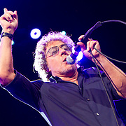 The Who perform their 50th Anniversary tour at American Airlines Center on Saturday Night. Original Frontman Roger Daltrey. (Special to the Star-Telegram/Rachel Parker)