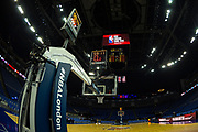 General view ahead of the NBA London Game match between Philadelphia 76ers and Boston Celtics at the O2 Arena, London, United Kingdom on 11 January 2018. Photo by Martin Cole.