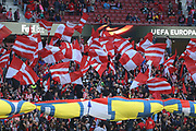 Supporters Atletico Madrid during the UEFA Europa League, semi final, 2nd leg football match between Atletico de Madrid and Arsenal FC on May 3, 2018 at Metropolitano stadium in Madrid, Spain - Photo Laurent Lairys / ProSportsImages / DPPI