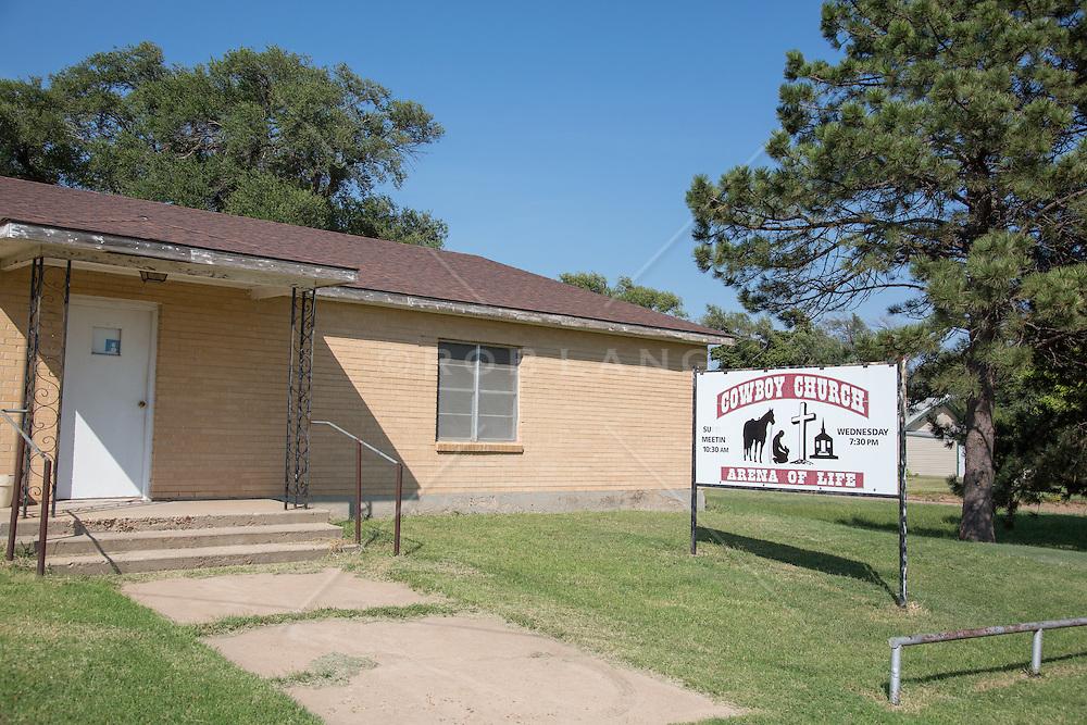 Cowboy Church in McClean, Texas