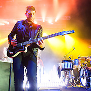 COLUMBIA, MD - May 10th, 2014 - Jacob Fink (middle) of Foster the People performs at the 2014 Sweetlife Festival at Merriweather Post Pavilion in Columbia, MD. The band released their sophomore album, Supermodel, in March. (Photo by Kyle Gustafson / For The Washington Post)