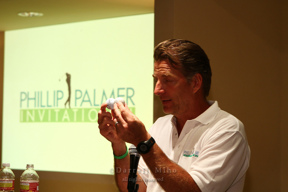 Oct. 03, 2011; Northridge, CA, USA - Phillip Palmer Invitational Golf Tournament to Benefit the Children's Hospital of Los Angeles.