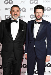 David Waliams and Jack Whitehall attending the GQ Men of the Year Awards 2017 held at the Tate Modern, London. Picture credit should read: Doug Peters/Empics Entertainment